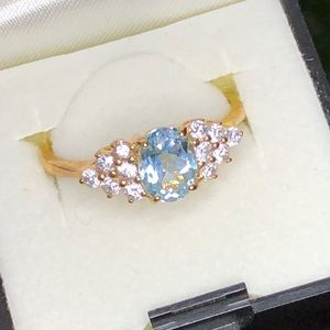 Jewelry - 14kt gold plated ring